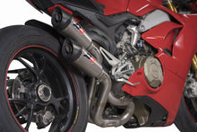"QD EXHAUST Ducati Panigale V4 Dual Slip-on Exhaust ""Gunshot"" (EU homologated)"