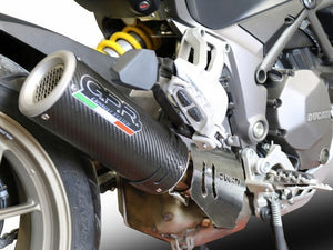 "GPR Ducati Multistrada 1260 ""M3 Carbon"" Slip-on Exhaust (racing only)"