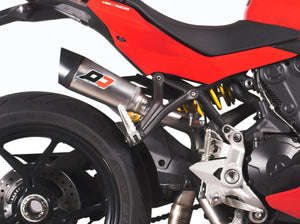 "QD EXHAUST Ducati SuperSport 939 Semi-Full Exhaust System ""Twin Gunshot"" (EU homologated)"