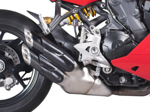 "QD EXHAUST Ducati SuperSport 939 Slip-on Exhaust ""Twin Monkey"" (EU homologated)"