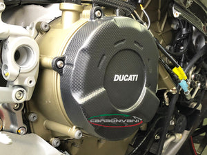 CARBONVANI Ducati Streetfighter V4 Carbon Clutch Cover