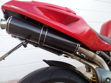 Ducati Superbike 748/916/996/998 Dual Slip-on Silencers by TERMIGNONI
