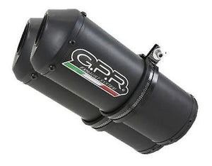 "GPR Ducati Monster 750 ""Ghisa"" Dual Slip-on Exhaust (EU homologated)"