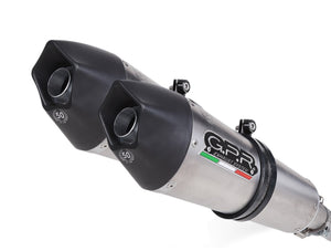 "GPR Ducati Monster 900 Dual Slip-on Exhaust ""GPE Anniversary Titanium"" (EU homologated)"