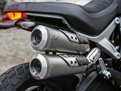 TERMIGNONI Ducati Scrambler 1100 Slip-on Exhaust (EU homologated)