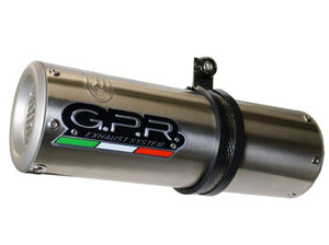 "GPR Ducati Monster 821 (15/16) Slip-on Exhaust ""M3 Inox"" (EU homologated)"