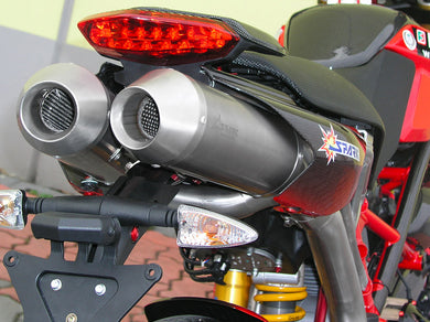 SPARK Ducati Hypermotard 796/1100 Dual Slip-on Exhaust