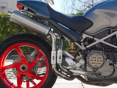 SPARK Ducati Monster S2R / S4R High Position Slip-on Exhaust