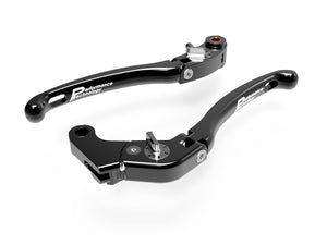 "LE06 - PERFORMANCE TECHNOLOGY Aprilia RSV4 / Tuono ""Eco GP 1"" Adjustable Handlebar Levers"