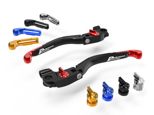 "LEA03 - PERFORMANCE TECHNOLOGY Ducati ""Eco GP 2"" Adjustable Handlebar Levers"