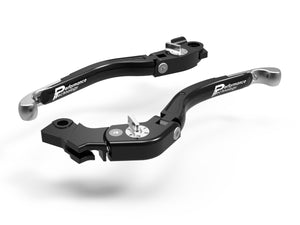 "LEA10 - PERFORMANCE TECHNOLOGY Ducati Monster / Scrambler ""Eco GP 2"" Adjustable Handlebar Levers"