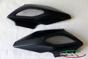 CARBONVANI MV Agusta Dragster 800/RR Carbon Air Box Covers Set