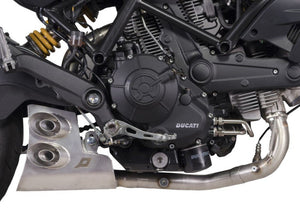"QD EXHAUST Ducati Monster 797 Full Exhaust System ""Ex-Box Evo2"" (EU homologated)"
