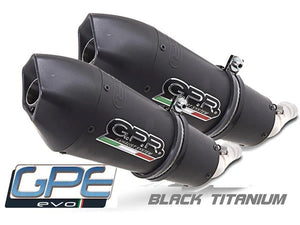 "GPR Ducati Monster 900 Dual Slip-on Exhaust ""GPE Anniversary Black Titanium"" (EU homologated)"