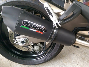 "GPR Ducati Monster 821 (15/16) Slip-on Exhaust ""GPE Anniversary Black Titanium"" (EU homologated)"