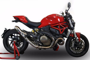 "GPR Ducati Monster 1200 (14/16) Slip-on Exhaust ""Powercone Evo 4"" (EU homologated)"