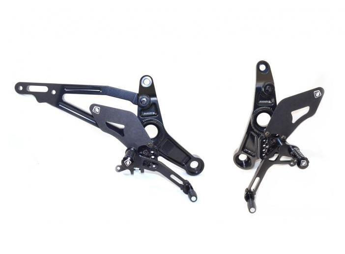 PRM12E01 - DUCABIKE Ducati Monster 821/1200 Adjustable Pilot Rearset