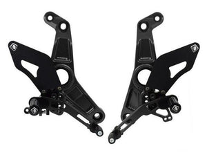 PRM12E02 - DUCABIKE Ducati Monster / SuperSport Adjustable Pilot Rearset