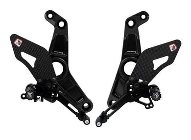 PRM1202 - DUCABIKE Ducati Monster 1200 / SuperSport 939 Adjustable Pilot Rearset