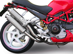 "SPARK Ducati Monster S2R / S4R Slip-on Exhaust ""Round"" (EU homologated)"