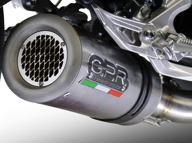 GPR Ducati Hypermotard 939 Slip-on Exhaust