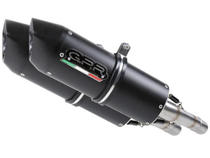 "GPR Ducati Multistrada 1100 Dual Slip-on Exhaust ""Furore Nero"" (EU homologated)"
