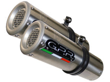 "GPR Ducati Hypermotard 1100 Dual Slip-on Exhaust ""M3 Inox"" (EU homologated)"
