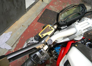 TLS02 - DUCABIKE Ducati Monster / Hypermotard Front Fluid Tanks caps