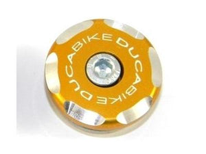TRS02 - DUCABIKE Ducati Front Wheel Cap (left; bi-color)