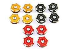 TTMSR02 - DUCABIKE Ducati Monster Frame Plugs (bi-color)