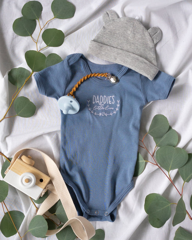Daddies Little Love - Water Blue | PeaTree