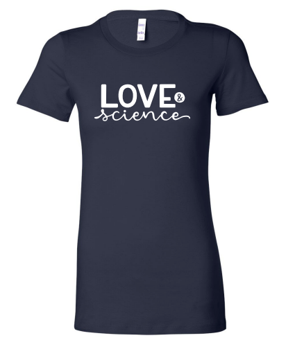 Love & Science Women's T-Shirt  - Water | PeaTree