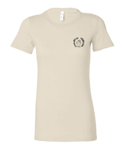 Logo Women's T-Shirt - Natural | PeaTree