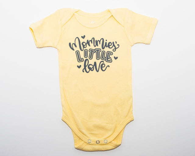 Specially Printed Mommies Little Love - Butter Yellow | PeaTree