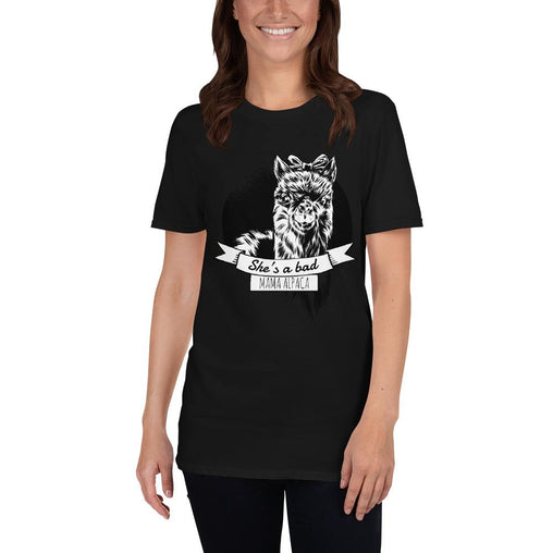 Alcapa Mom Women's T-Shirt MatchingStyle.com Black S