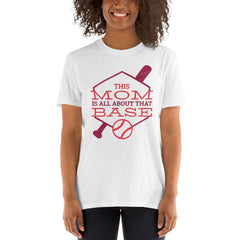 Base Mom Women's T-Shirt MatchingStyle.com White S