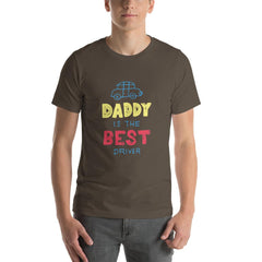 Best Daddy Driver Men's T-Shirt MatchingStyle.com Army S