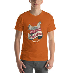 Chicken Farm Life Vintage Men's T-Shirt MatchingStyle.com Autumn S