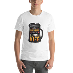 Cool Beer Mug Men's T-Shirt MatchingStyle.com White S