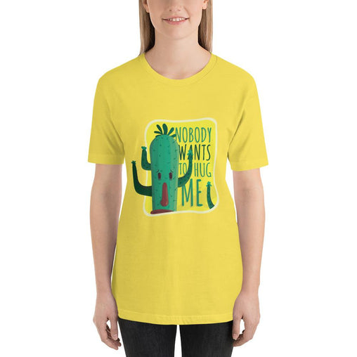 Cool Funny Women's T-Shirt MatchingStyle.com Yellow S