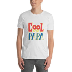 Cool Wie Papa Men T-Shirt MatchingStyle.com White S