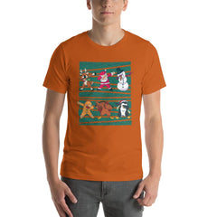 Dab Christmas Men's T-Shirt MatchingStyle.com Autumn S