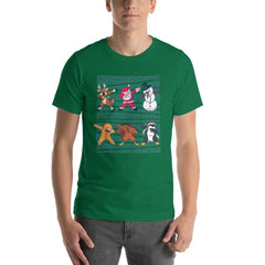 Dab Christmas Men's T-Shirt MatchingStyle.com Kelly S