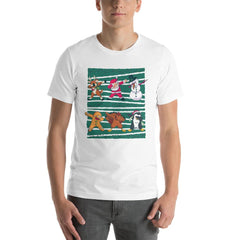 Dab Christmas Men's T-Shirt MatchingStyle.com White S