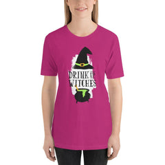 Drink Up Witches Women's T-Shirt MatchingStyle.com Berry S
