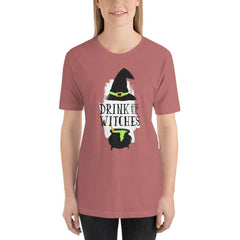 Drink Up Witches Women's T-Shirt MatchingStyle.com Mauve S