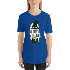 Drink Up Witches Women's T-Shirt MatchingStyle.com True Royal S
