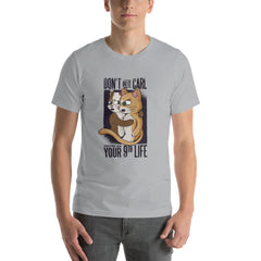 Funny Cats Men's T-Shirt MatchingStyle.com Silver S