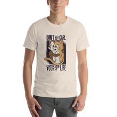 Funny Cats Men's T-Shirt MatchingStyle.com Soft Cream S