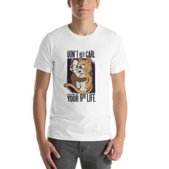 Funny Cats Men's T-Shirt MatchingStyle.com White S